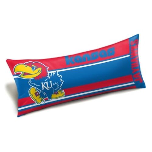Kansas Jayhawks Official NCAA Seal Body Pillow