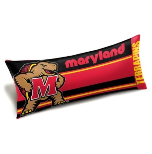 Maryland Terrapins Official NCAA Seal Body Pillow