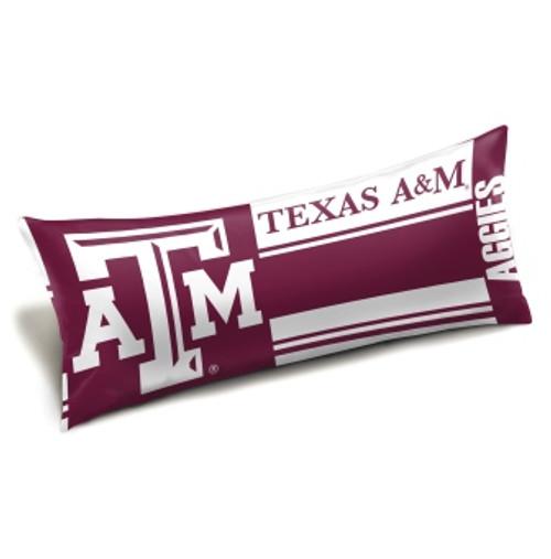 Texas A&M Aggies Official NCAA Seal Body Pillow