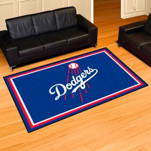 Los Angeles Dodgers 5x8 Rug
