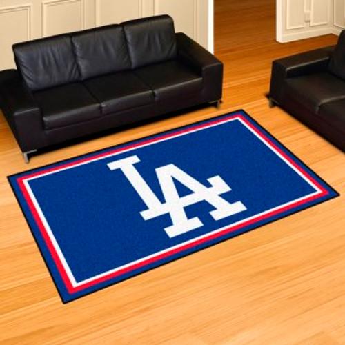 Los Angeles Dodgers Logo 5x8 Rug