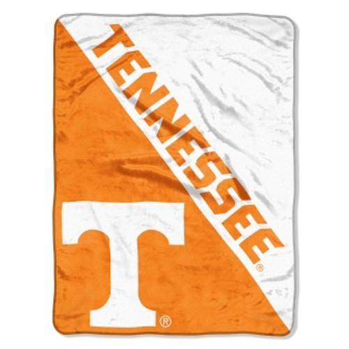 Tennessee Volunteers Official NCAA Halftone Micro Raschel Throw Blanket