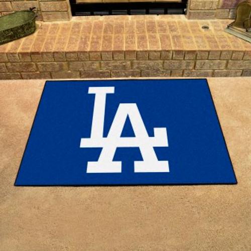 Los Angeles Dodgers Logo All Star Mat