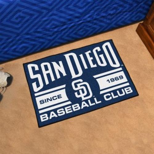 San Diego Padres Baseball Club Starter Mat