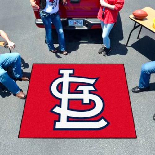 St Louis Cardinals Logo Tailgater Mat