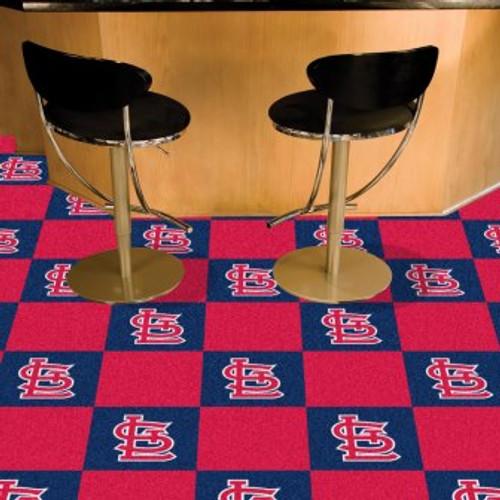 St Louis Cardinals Team Carpet Tiles