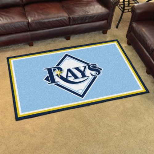Tampa Bay Rays 4x6 Rug