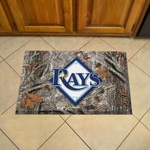 Tampa Bay Rays Camo Scraper Mat