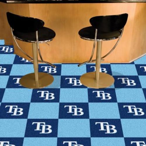 Tampa Bay Rays Team Carpet Tiles