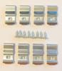 Clip Kit Quarter Top Edge Molding 68-70 Charger & Coronet & Roadrunner & Satellite
