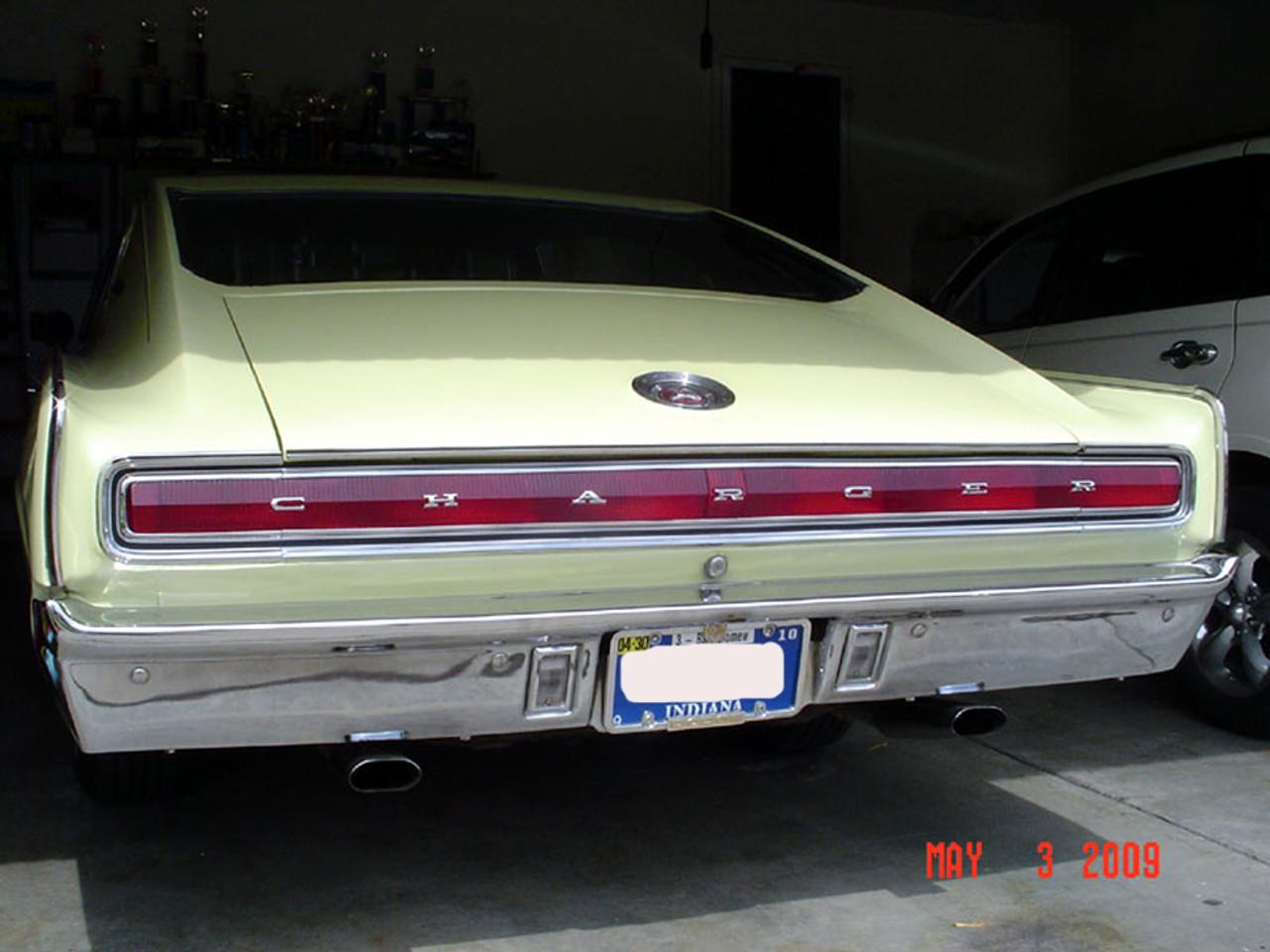 1966 1967 Plymouth Dodge B-Body 2 Headlight Adjuster /& Spring Kit New MoPar 66