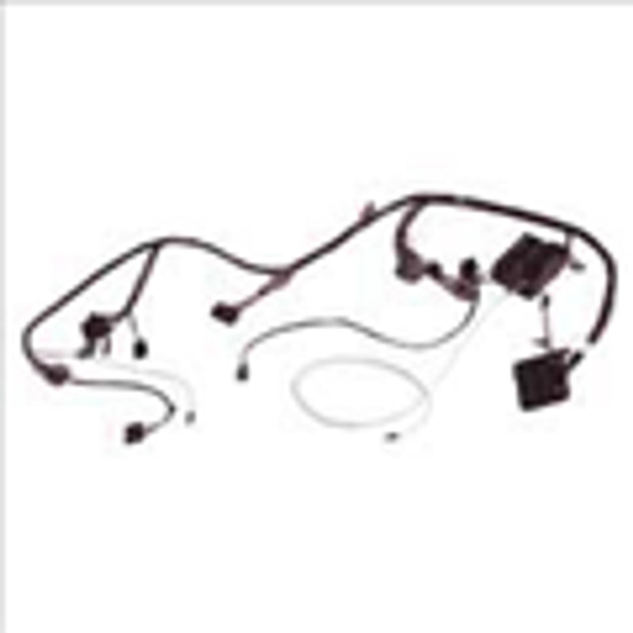 HU308A, 1968, 68, dart, valiant, barracuda, dash harness, dash wiring  harness, wiring harnessMr Moparts