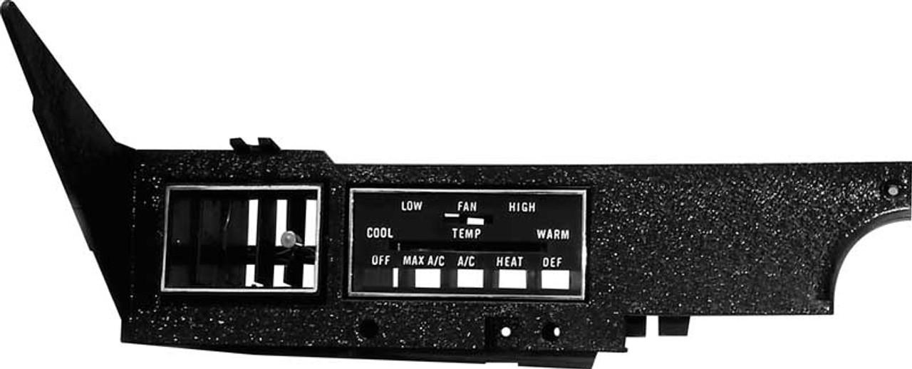 A/C & Heater Control Panel 70-74 E Body