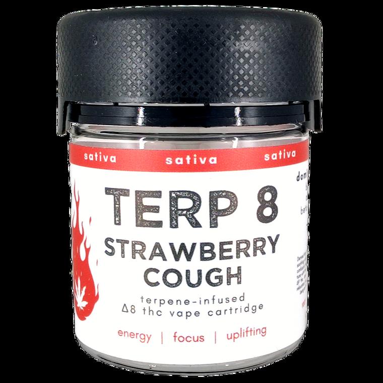 Strawberry Cough Delta-8 THC Vape Cartridge