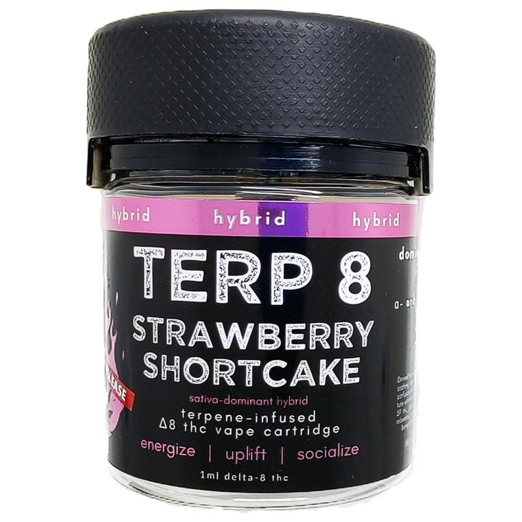Strawberry Shortcake [LIMITED RELEASE] Delta-8 Vape Cartridge