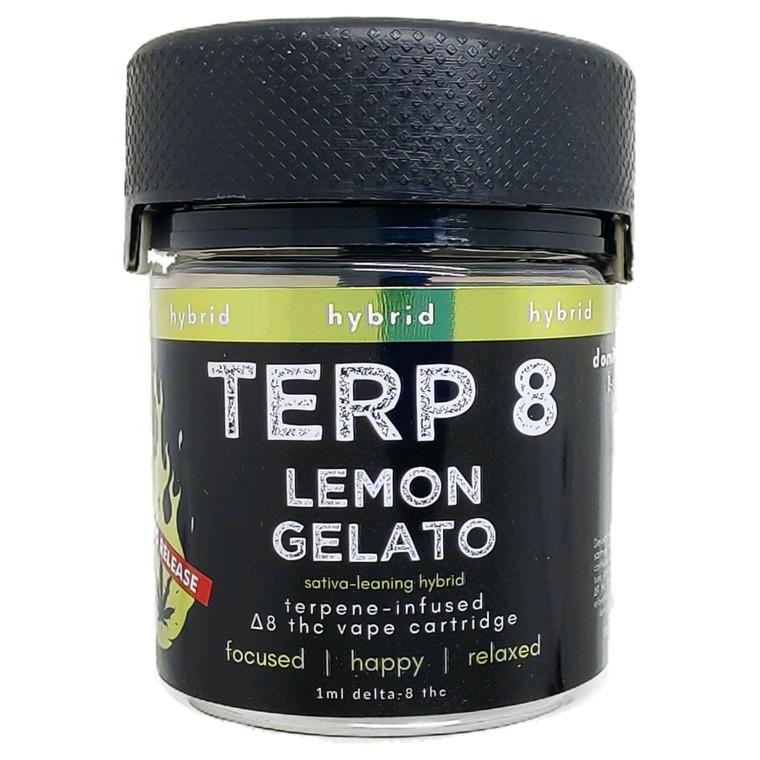 Lemon Gelato [LIMITED RELEASE] Delta-8 Vape Cartridge