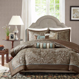 Free Shipping! Blue  Aubrey 6 Piece Duvet Cover Set by Madison Park