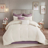 Free Shipping! Elise 8 Piece Cotton Printed Reversible Comforter Set by  Madison Park