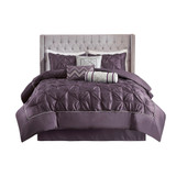 Sale! Plum Laurel 7 Piece Tufted Comforter Set by Madison Park