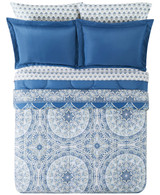 Katherine Blue 8-Pc. Reversible  Comforter Set