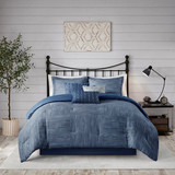 Sale! Mountain Blue 7 Pc. Comforter Set by Madison Park