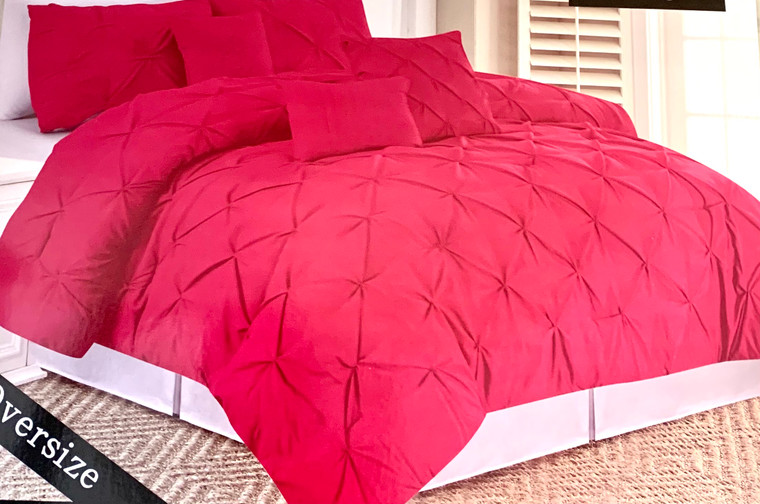 Fuschia 6 Piece Comforter Set