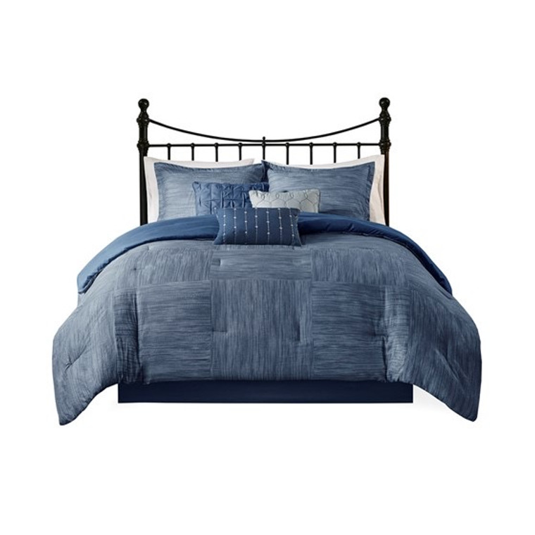 Free Shipping! Mountain Blue 7 Pc. Comforter Set by Madison Park- Clearance!