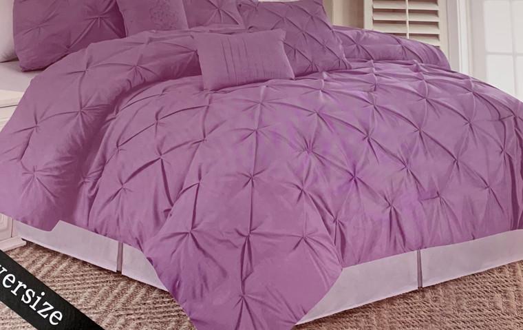 Lavender 6 Piece Comforter Set