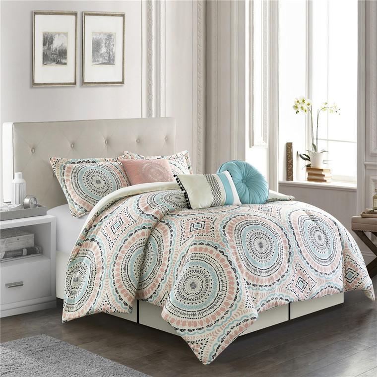 Laurelelle 7-Pc. Comforter Set by Nanshing
