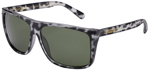 HAPPY HOUR CASINO MATTE BLACK TORTOISE SHADES SUNGLASSES