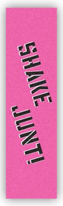 SHAKE JUNT GRIP PINK/BLACK SHEET