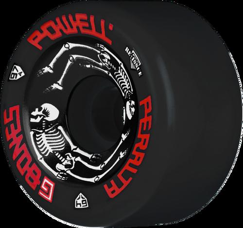 Powell Peralta G-BONES II 97A 64mm BLACK (Set of 4)