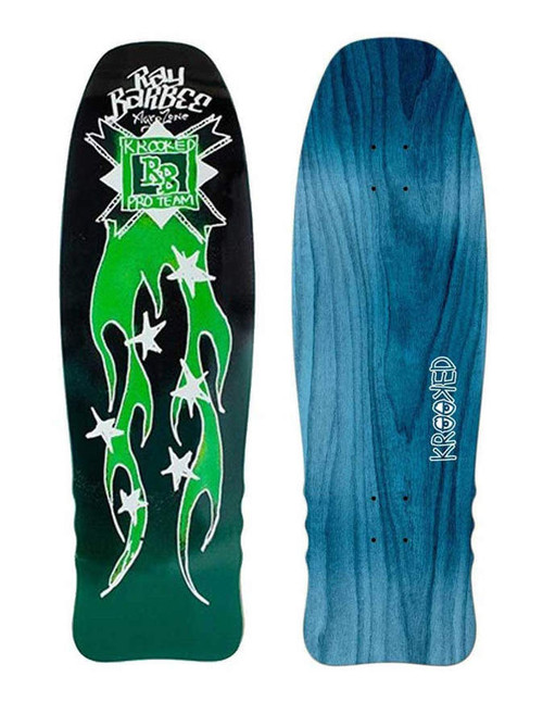 """Krooked 10.0"""""""" Ray Barbee Flames Deck"""