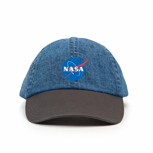 HABITAT NASA MEATBALL LOGO DAD HAT