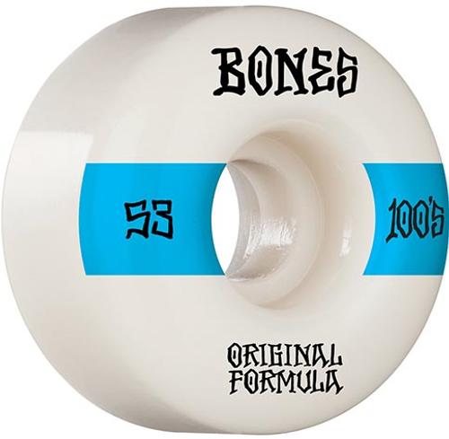 BONES 100S OG #14 WHITE V4 53MM (Set Of 4)