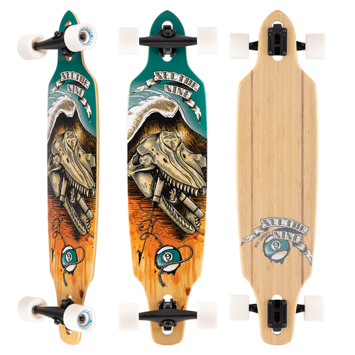 """SECTOR 9 MINI LOOKOUT WRECKAGE 9.25 x 37.5"""" COMPLETE"""