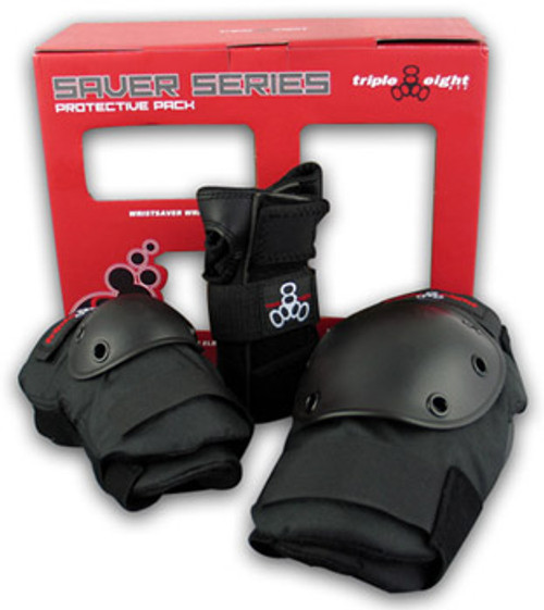 TRIPLE 8 SAVER SERIES 3 PACK PADS JR