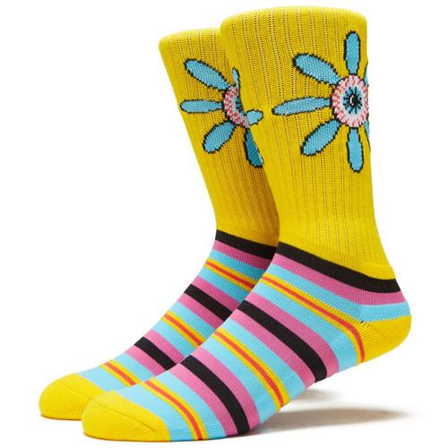 Baker x Psockadelic Floral Eye Socks