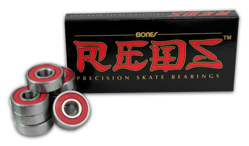 BONES REDS BEARINGS SINGLE SET