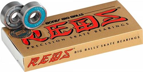BONES REDS BIG BALLS BEARINGS SINGLE SET