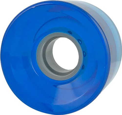BLANK CRUISER CLEAR BLUE 60MM 83A (Set of 4)