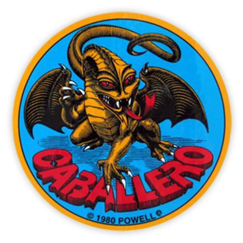 POWELL CAB ORIGINAL DRAGON STICKER