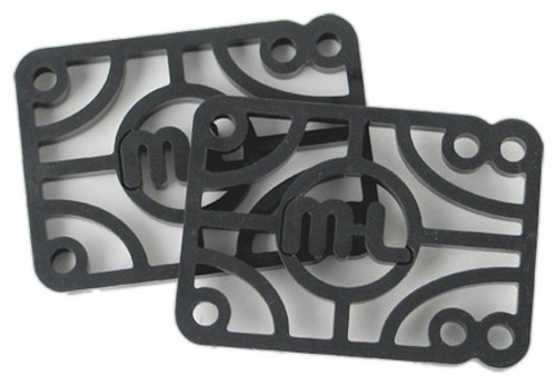 "MINI LOGO RISERS HARD 1/2"" (SET)"