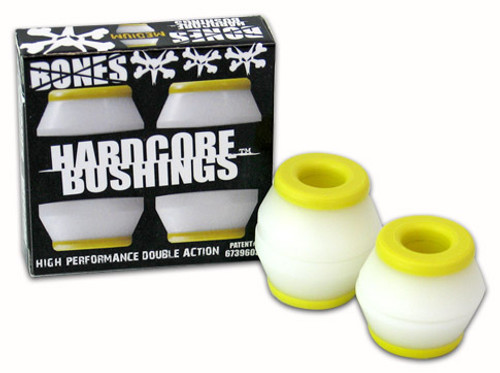 BONES BUSHINGS HARDCORE WHITE MEDIUM