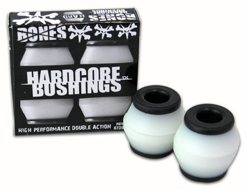 BONES BUSHINGS HARDCORE WHITE HARD