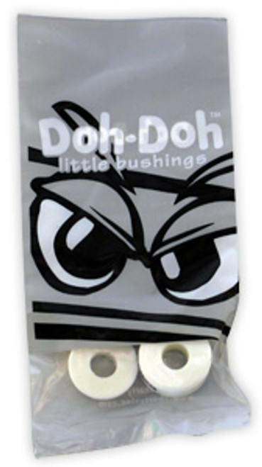 SHORTY'S BUSHINGS DOH DOHS WHITE 98A (NOW 4 PER PACK)
