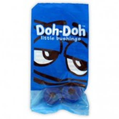 SHORTY'S BUSHINGS DOH DOHS BLUE 88A (NOW 4 PER PACK)