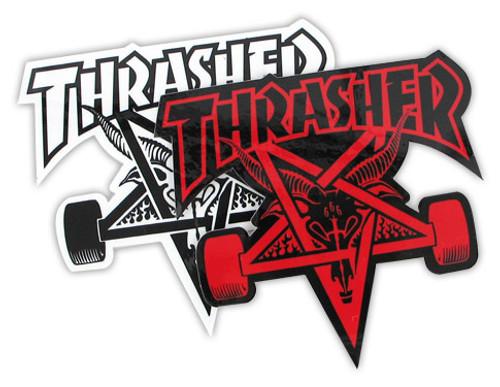 THRASHER SK8 GOAT STICKER