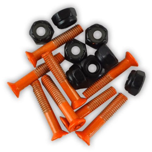 "BULK 1"" HARDWARE 8-PACK ORANGE"