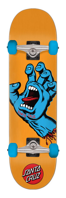 Santa Cruz Screaming Hand Mid Sk8 Completes 7.80in x 31.00in